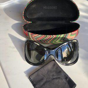 Missoni Oversize Wraparound Sunglasses ( Vintage )
